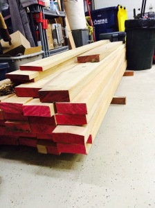 Bunk of maple