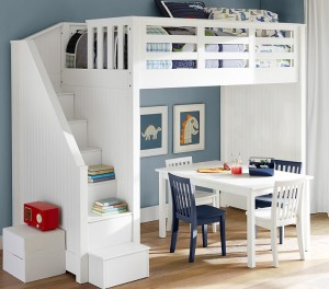 Pottery Barn Loft Bed Wyatt's room