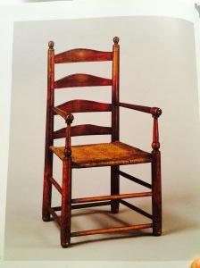 WB Southern Furniture Ladder back color