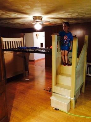 Wyatt Bed Stairs